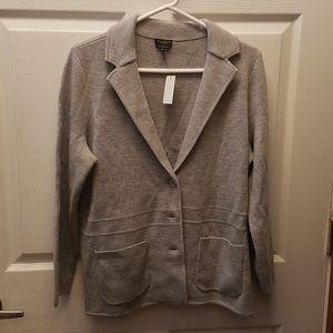 Talbots Pure Marino Wool Cardigan Sweater size 1Xp